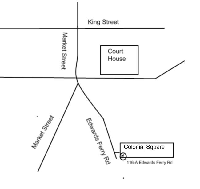 Map of Leesburg Doctor